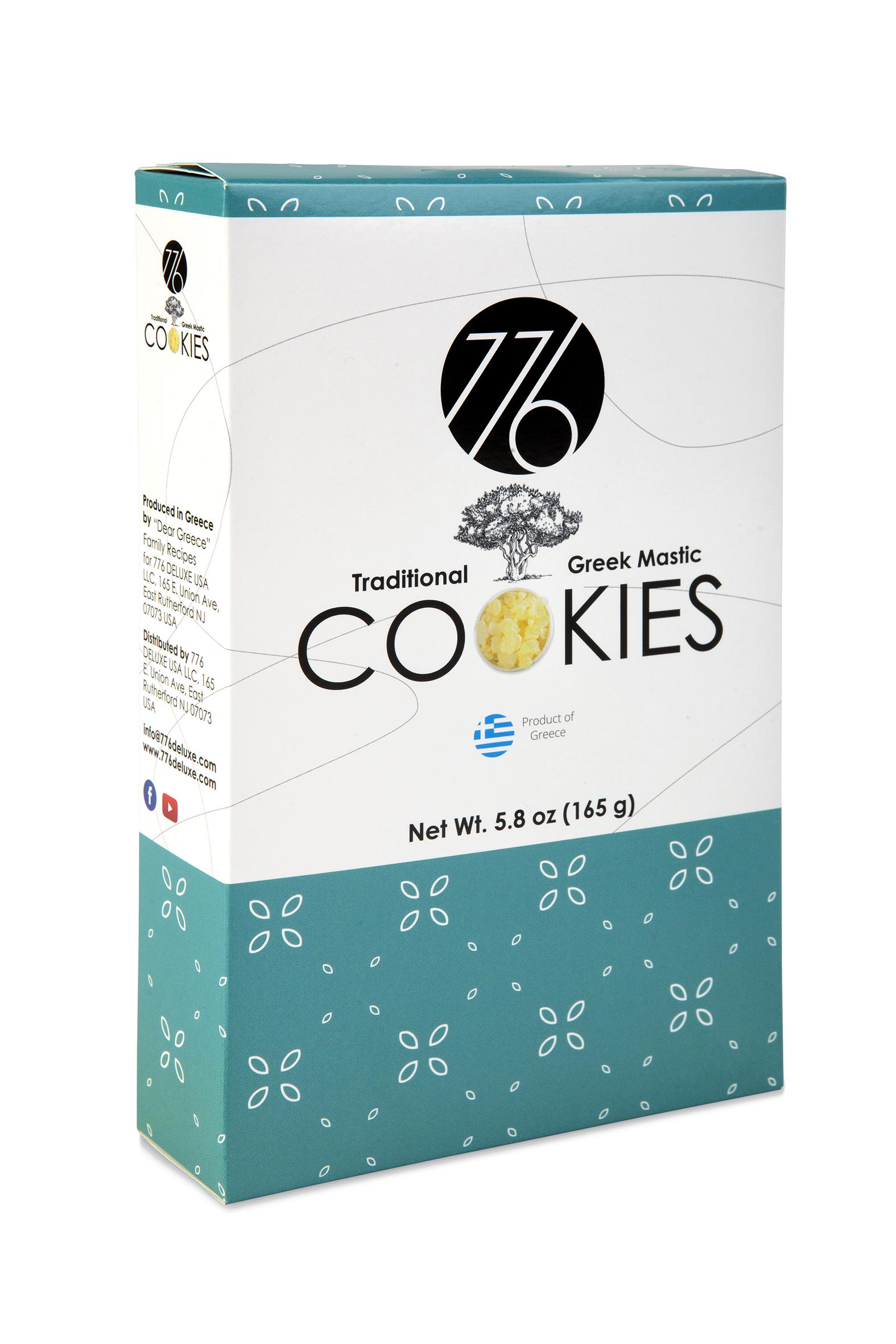 Traditional Greek Mastic Cookies