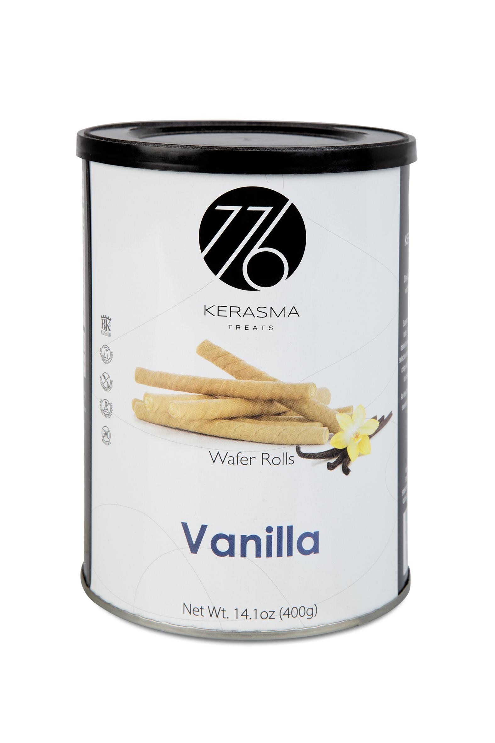 Vanilla Wafer Rolls