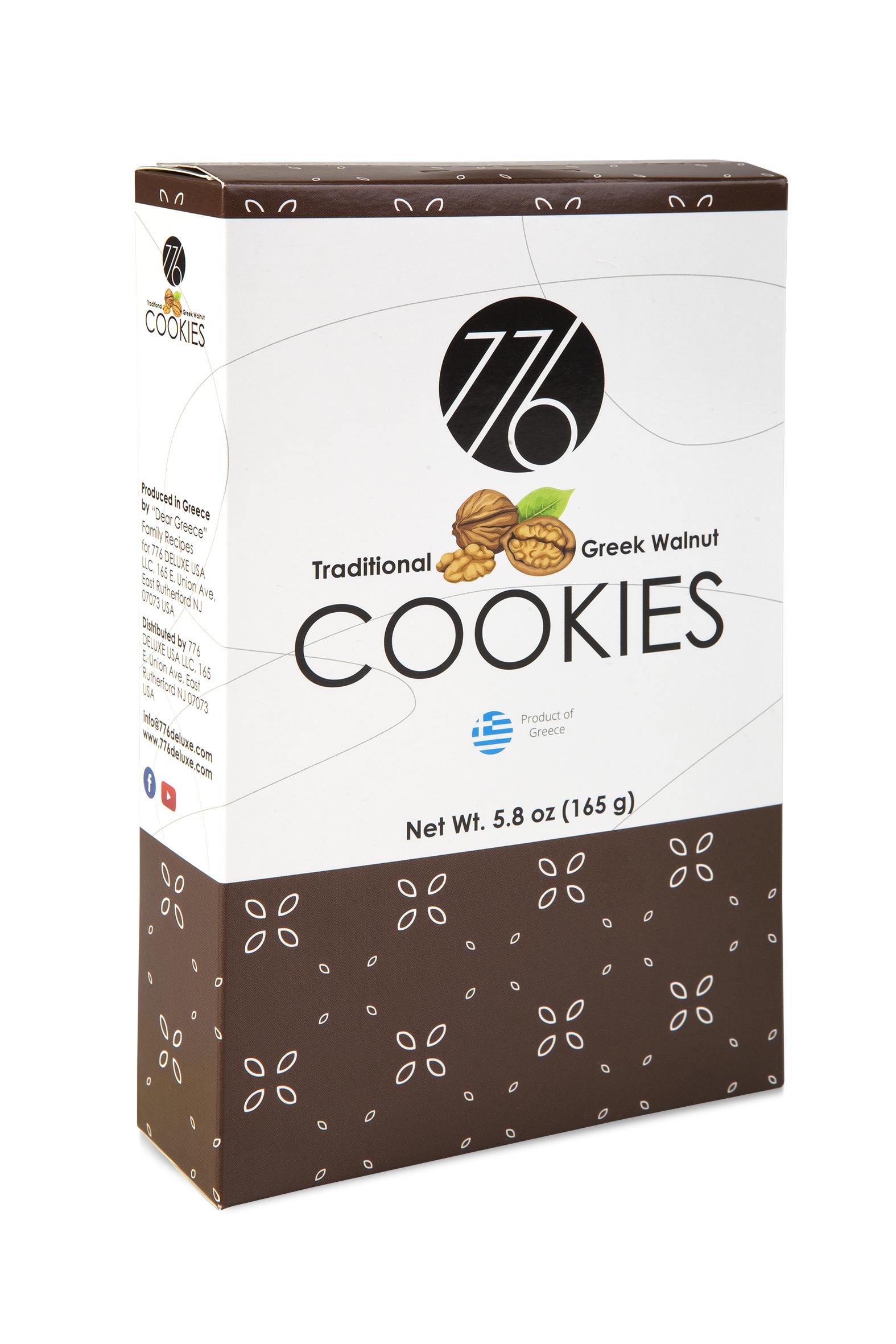 Traditional Greek Walnut Cookies