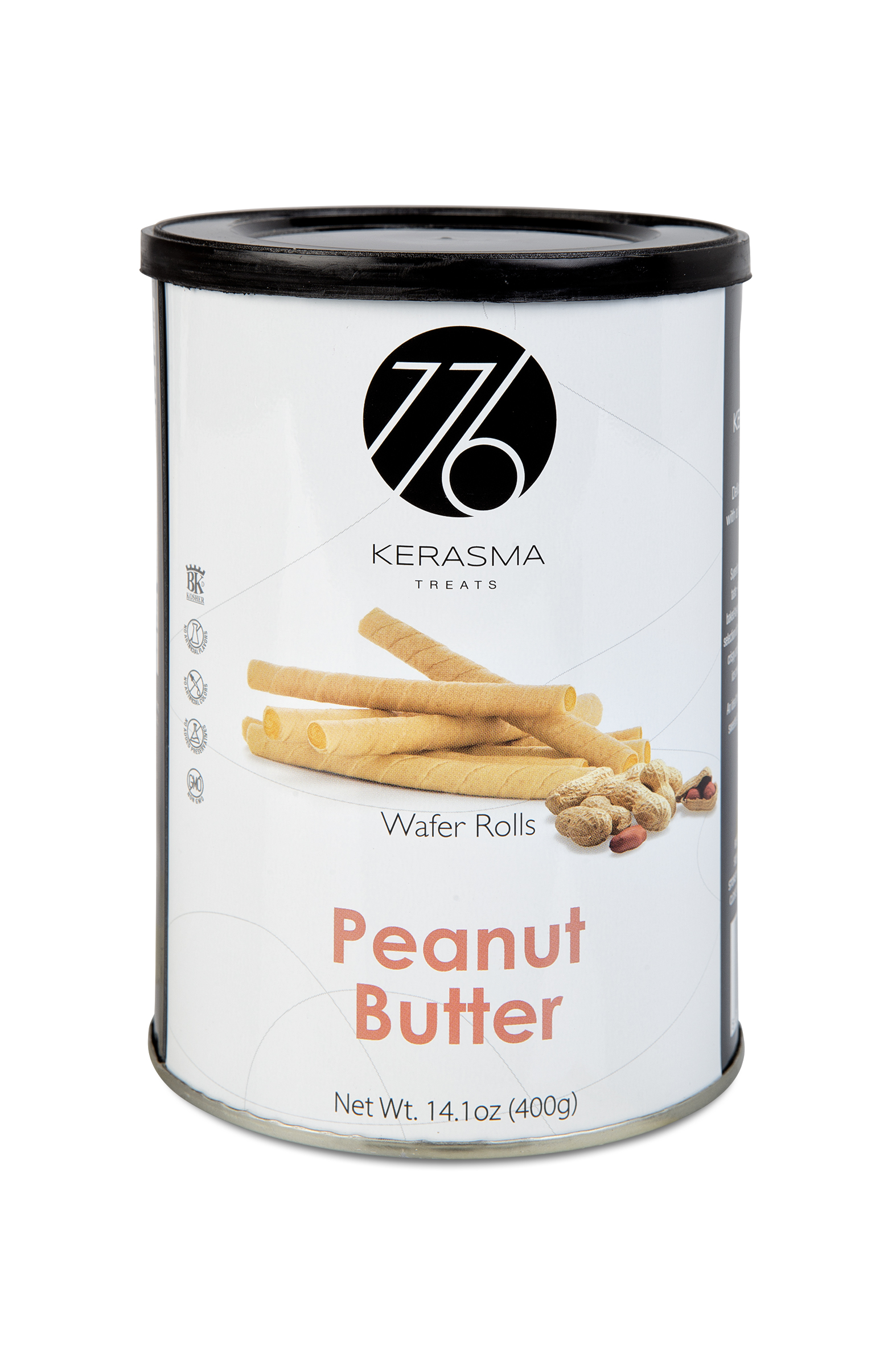 Peanut Butter Wafer Rolls
